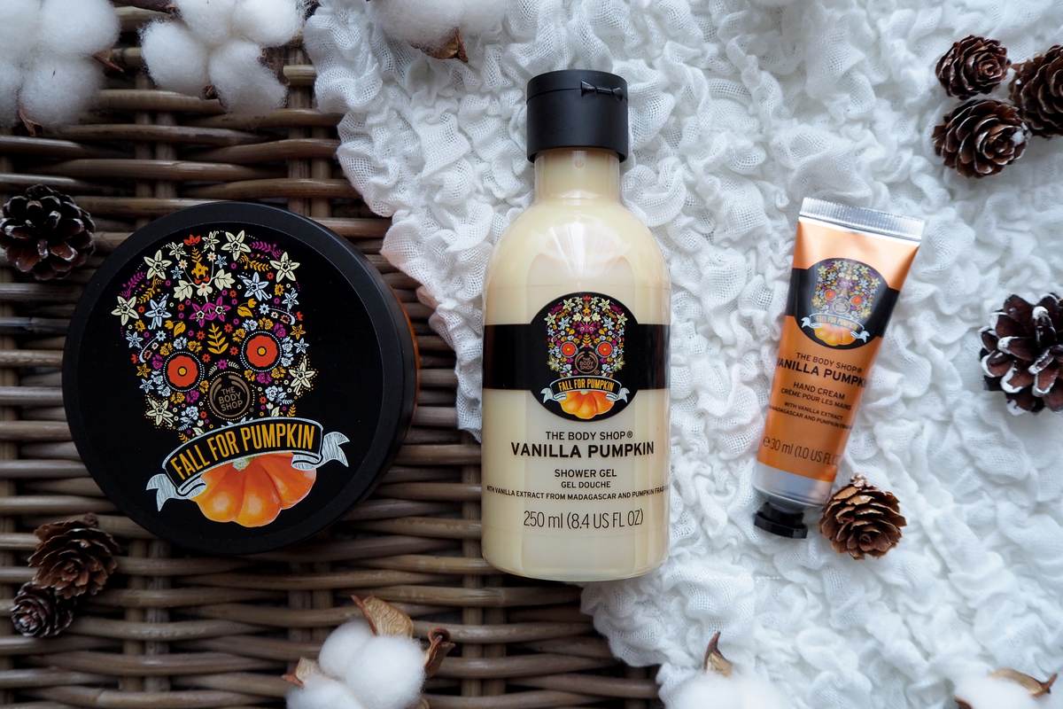 Vanilla Pumpkin collection the body shop