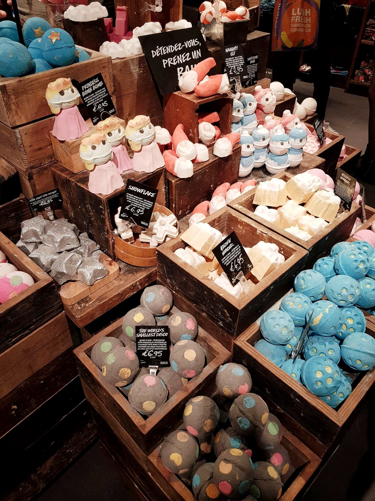 Lush collection noël 2018