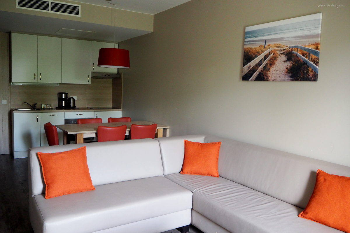 Salon appartement holiday suites westende