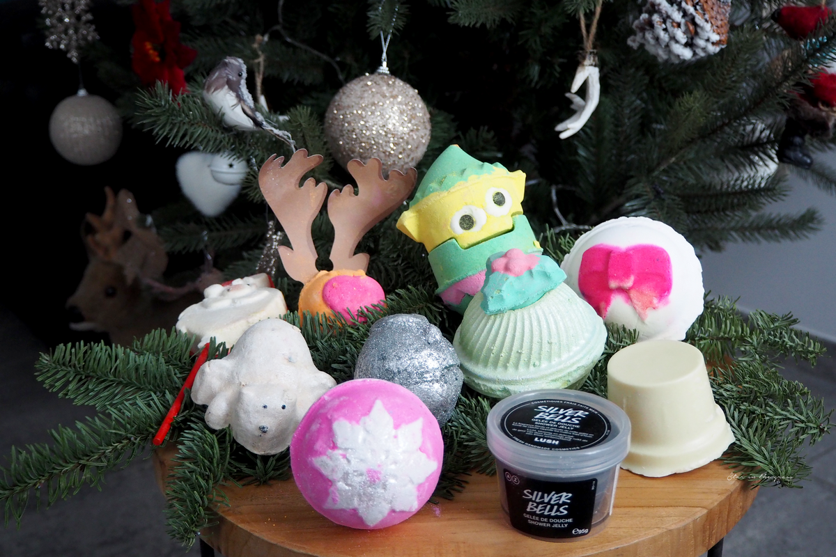 Collection de Noël Lush Cosmétics